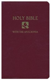 NRSV Gift & Award Bible with Apocrypha, Imitation leather,  Burgundy Slightly Imperfect