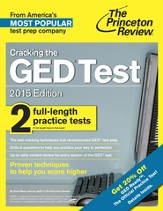 Cracking the GED Test with 2 Practice Tests, 2015 Edition - eBook