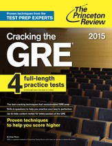 Cracking the GRE with 4 Practice Tests, 2015 Edition - eBook