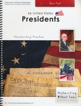 44 United States Presidents: Basic Print, Handwriting Without Tears Edition