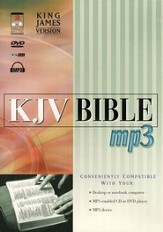 KJV Bible        - Audio Bible on MP3 CD-ROM