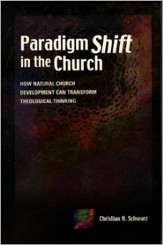 Paradigm Shift in the Church: How Natural Church Development Can Transform Theological Thinking