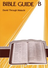 Bible Guide B Student Workbook (NIV)