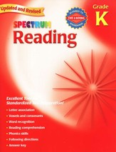 Spectrum Reading, 2007 Edition, Grade K