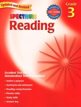 Spectrum Reading, 2007 Edition, Grade 3