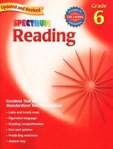 Spectrum Reading, 2007 Edition, Grade 6