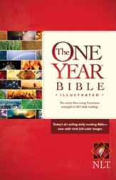 The One Year Bible Illustrated NLT - eBook