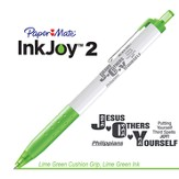Jesus Others Yourself Pen, Lime Green