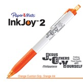 Jesus Others Yourself Pen, Orange