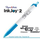 Jesus Others Yourself Pen, Turquoise