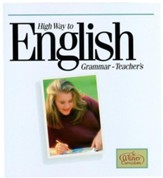 High Way To English Grammar, Teacher's Manual