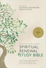 NIV Spiritual Renewal Study Bible: Experience New Growth and Transformation in Your Spiritual Walk - eBook