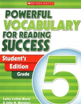Powerful Vocabulary for Reading Success: Student Workbook Grade 5