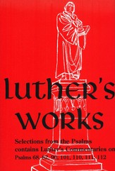 Selected Psalms II, Vol. 13 Luther's Works