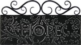 Hope Metal Wall Decor