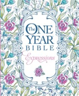 NLT, The One Year Bible Creative Expressions Edition, Softcover