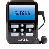 NIV GoBible Digital Bible Player, Black