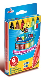 6 Superwashable Maxi Markers