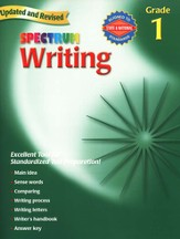 Spectrum Writing, 2007 Edition, Grade 1