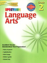 Spectrum Language Arts, 2007 Edition, Grade 2