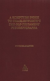 A Scripture Index to Charlesworth's The Old Testament Pseudepigrapha