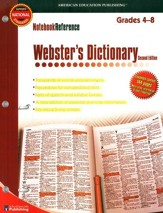 Notebook Reference Webster's Dictionary
