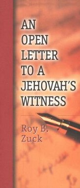 An Open Letter to a Jehovah's Witness, Pack of Ten