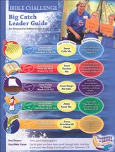 Big Catch Bible Challenge Leader Guide with CD