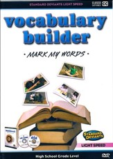 Light Speed Vocabulary Builder: Mark My Words DVD