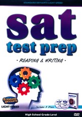 Light Speed SAT Test Prep: Reading and Writing DVD