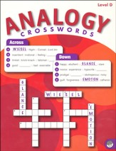 Analogy Crosswords Level D