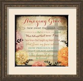 Amazing Grace, Cross Of Love Framed Art