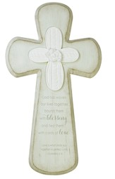 Family, God Has Woven Our Lives Together Wall Cross