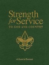 Strength for Service to God and Country - Boy scouts of American version