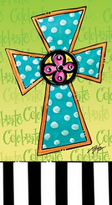 Sweet Celebrations, Cross, Paper Guest Towel, Pack of 15
