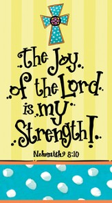 Sweet Celebrations, The Joy Of the Lord Is My Strength, Paper Guest Towel, Pack of 15