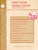 Henle Latin 1 Study Guide for Units 3-5