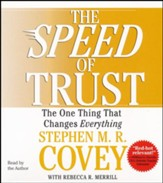 The Speed of Trust: The One Thing That Changes Everything, Audio CD