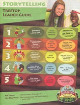 Camp Discovery VBS 2015: Treetop Storytelling Leader Guide with CD