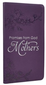 Promises from God for Mothers, Purple Imitation Leather