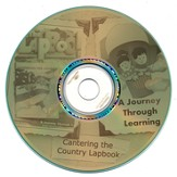 Cantering the Country Lapbook CD-Rom