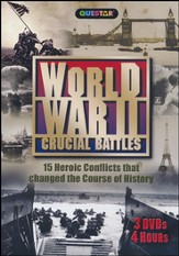 Crucial Battles of WWII  : 15 Heroic Conflicts that Changed Course of History, 3 DVDs