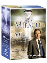 It's a Miracle: 50 More Real Life Stories...That Reveal Miracles Really Happen - 3 DVDs