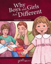 Why Boys and Girls are Different: For Girls Ages 3-5, revised & updated - Slightly Imperfect