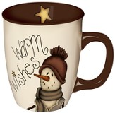Warm Wishes Snowman Mug