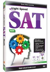 Light Speed SAT Math DVD