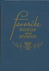 Favorite Songs and Hymns (Blue)