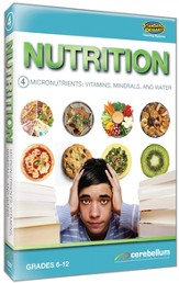 Micronutrients: Vitamins, Minerals, and Water DVD Teaching Systems Nutrition