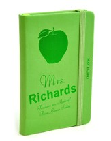 Personalized, Notebook, Teachers Are a Blessing, Green