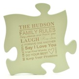 Personalized, Puzzle Piece, Green